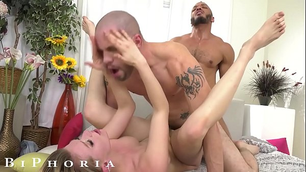 BiPhoria - Lucky Hitchhiker Picked Up By Wild Bisexual Couple Thumb