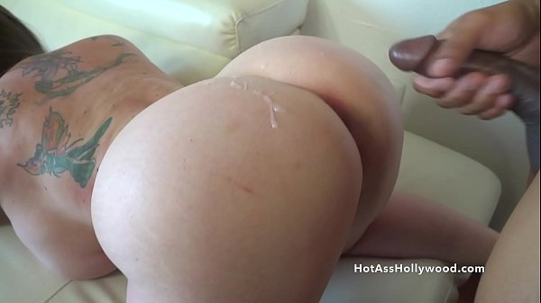 Hot Ass Hollywood gets pounded and rewarded with cum Thumb