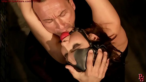 Innocent girl, Baley, in strict rope bondage. BDSM movie.Hardcore bondage sex.