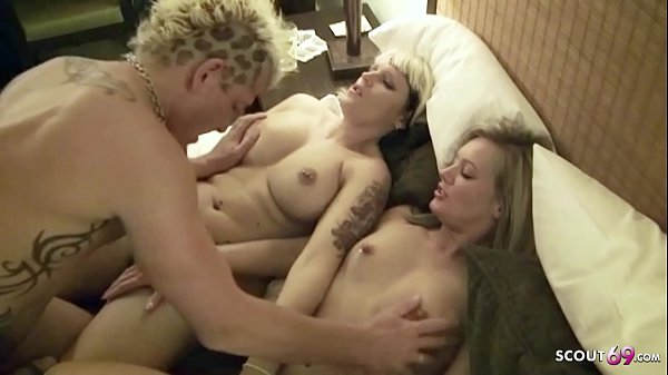 REAL AMATEUR FFM THREESOME AFTER PARTY IN HOTEL - GERMAN