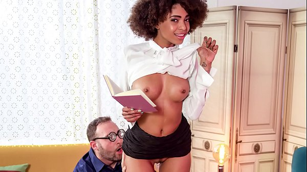 XXX SHADES - #Luna Corazon - Brazilian Fantasy With Hot Ebony Teen Thumb