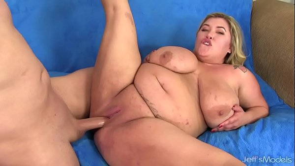 Big boobed blonde Kacey Parker tangles with big...