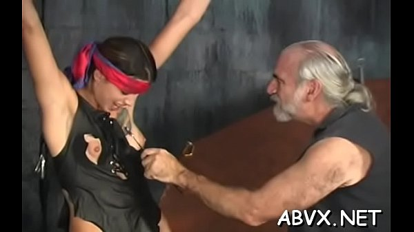 Naked sweethearts roughly playing in bondage xxx amateur clip