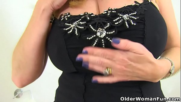 English milf Lily May gets down and dirty in ba...