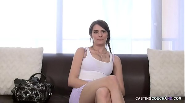Curvy Teen Rides Dick on the Casting Couch