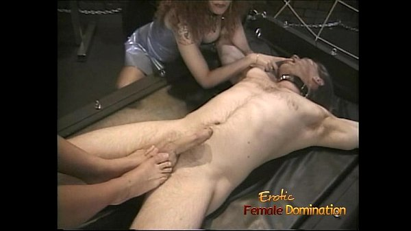Steaming hot threesome with two lusty harlots i...