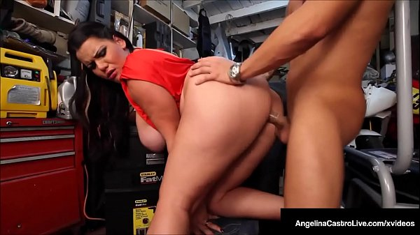 Enormous Boobed Angelina Castro Face Fucks To Get A Bike? Thumb