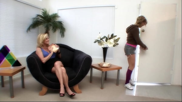 Two horny freaky lesbians like mum & daughter fucking around in hot sex hardcore