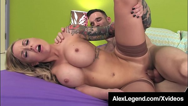 Inked Alexia Vosse Is Pussy Pounded By Fat Cock...