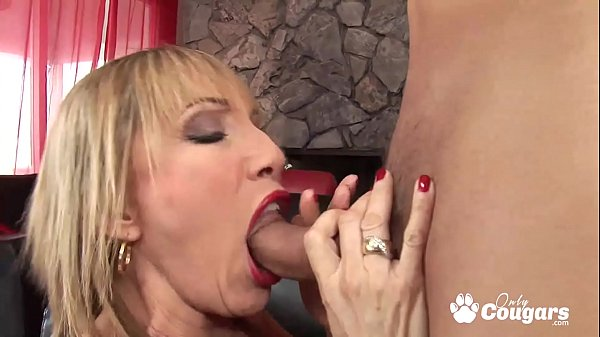 Sexy Granny Gives A Lucky Young Man The Best Sex Of His Life - Luna Azul