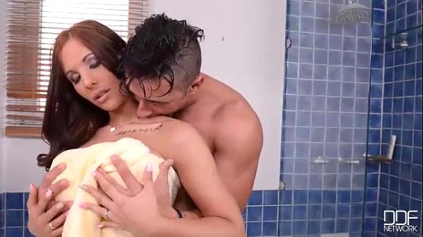 Big tits babe Kyra Hot gets her juicy pussy smashed Good