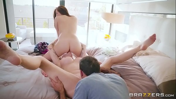 Brazzers - Couple invites stepmom to fuck