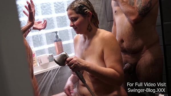FETSWING DIARIES – S3 E6 C3 – Wild Shower Sex for this Kinky Threesome Thumb
