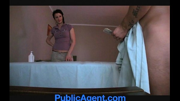 PublicAgent Fucking the Masseur MILF Thumb