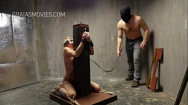 Obedient slave whipped until she cries Thumb
