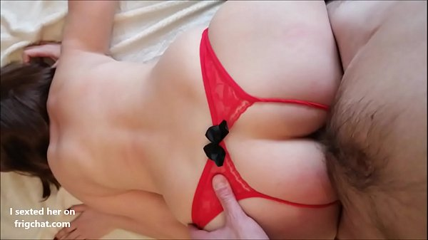 I cum inside cute redhead with nice ass and tits