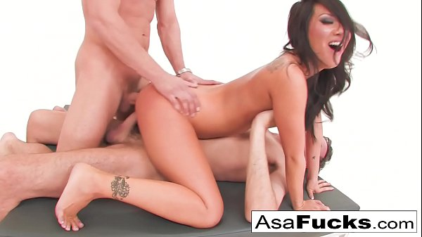 Asa Akira's Double Anal and Double Penetration Thumb