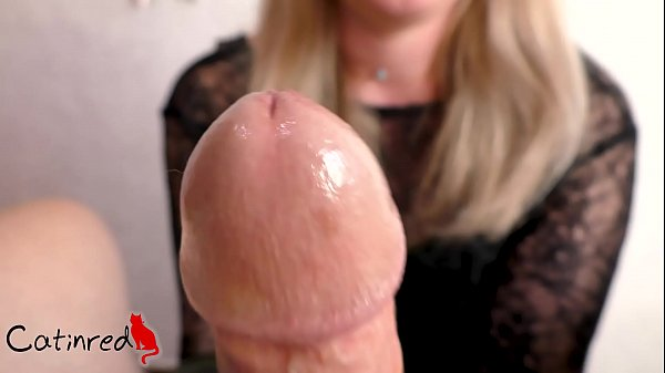 Her black gloves bring my cock to orgasm Thumb