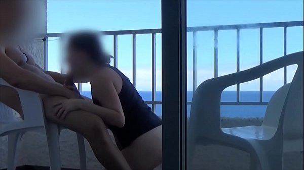 FUCKING ON THE BALCONY OF A HOTEL IN TENERIFE ...