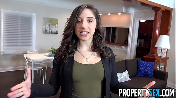 PropertySex - College student fucks hot ass real estate agent Thumb
