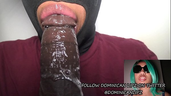 Twitter Thot @DominicanLipz Sloppy Head And Dick Sucking Lips Queen- DSLAF