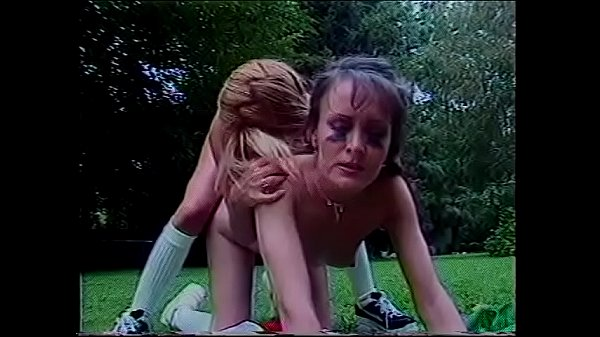 Horny lesbians Doomy Moore and Allysin Chaynes play with each other's wet pussies with lips and toys