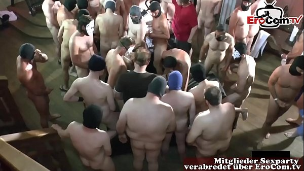 german userdate party bareback with creampie an...