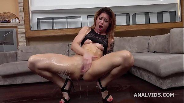 Monika Wild gets submitted with Balls Deep DAP, Gapes, Pee d., Domination, Squirt and Swallow GL330 Thumb