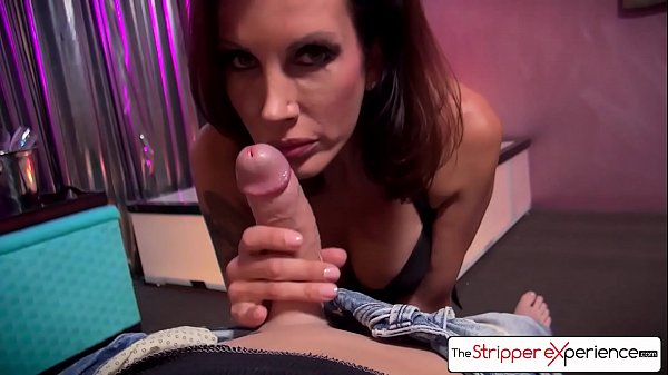 The Stripper Experience - Shay Sights sucking a monster cock, big boobs & big booty
