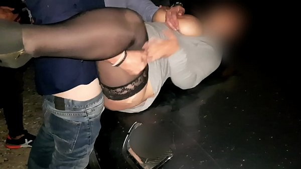 Battlefield El Saler - Night Dogging / Gangbang. REAL SEX Outdoor in Valencia. Available on RED and onlyfans.com/ninfaygolfo without music.