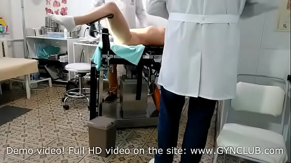 Orgasm for mature woman on gyno chair