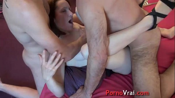 Squirting exhib wife gang bang French amateur
