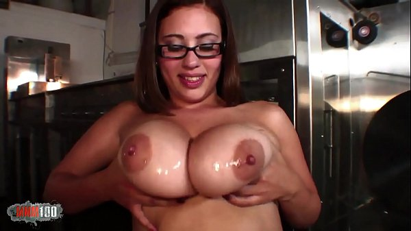 He, who adores her big ass and her huge natural breasts