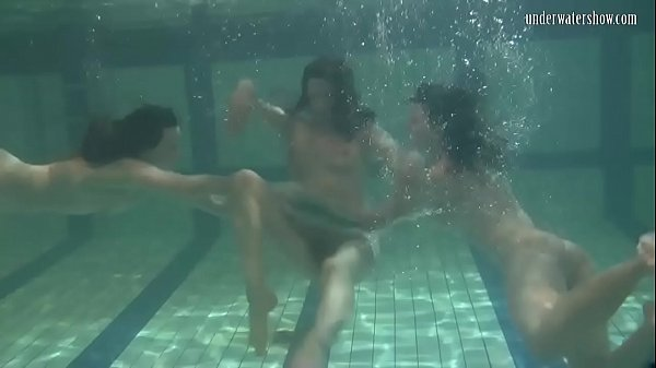 Ivetta and Katka and Barbara hot underwater lesbians Thumb