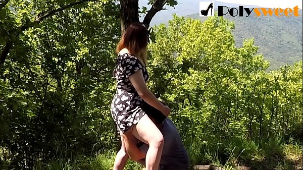 PUBLIC SEX ON THE MOUNTAIN, CUNILINGUS   CUM KISS (eng sub) Thumb