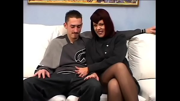 Redhaired MILF Rubee Tuesday was so satisfied with service quality provided by young guy so she proposed him full time job Thumb