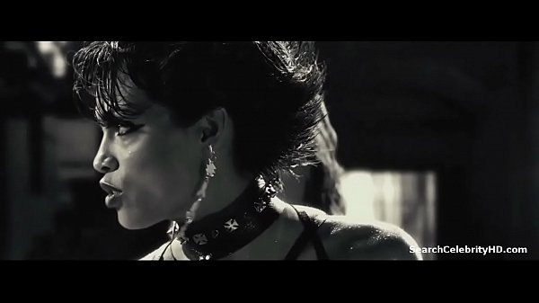 Rosario Dawson in Sin City 2005