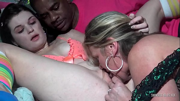 Two amateur cuties masturbating and toying each others wet pussies