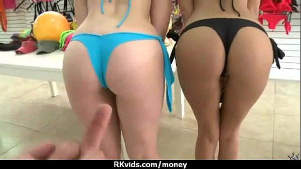 Slutty amateur babe is paid cash from some crazy public sex 23 Thumb