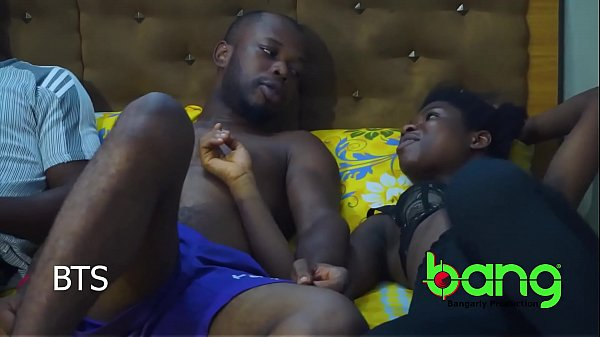 sweet daddy - horny ebony teen - Behind the scene
