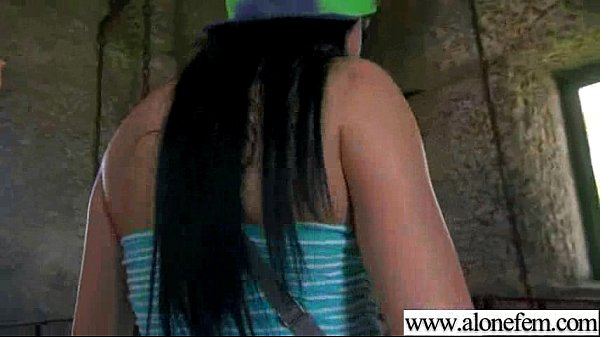 Solo Horny Sexy Girl Use All Kind Of Things In Holes movie-29