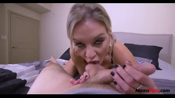 Naughty MOM punishes and then pleases PERVson's COCK
