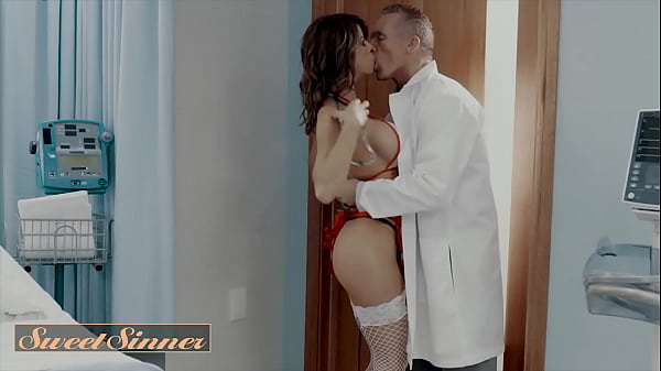 (Alexis Fawx) Has 2 Intense Orgasms Before (Marcus London) Cums All Over Her Pussy - Sweet Sinner Thumb