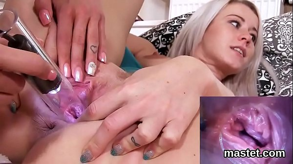 Horny czech cutie gapes her narrow vagina to th...