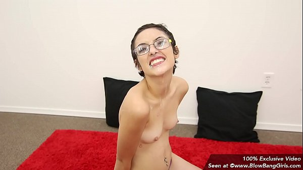 Nerdy Teen Overwhelmed In Her First Porno & Cries