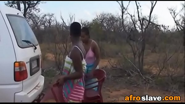 Hardcore interracial group sex with hot African...