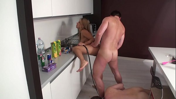 Cuckold have to look while his Mistress and Mas...