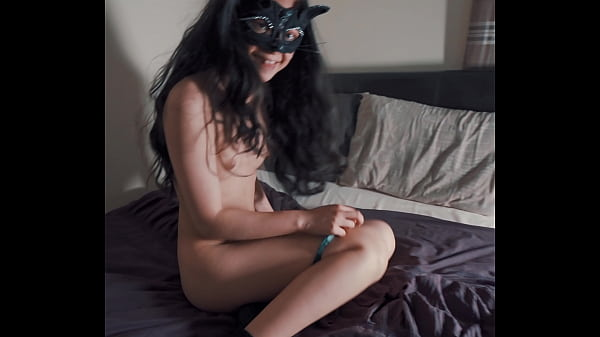 Young Kitty girl gives me sloppy blowjob