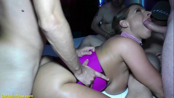 b. anal swinger orgy with sexy susi