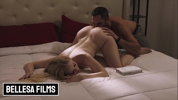 (Emma Starletto) Tries A Few New Kama Sutra Positions With Her Roommate (Damon Dice) - Bellesa